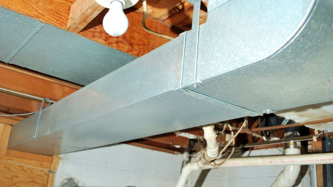 Air Duct Sweating